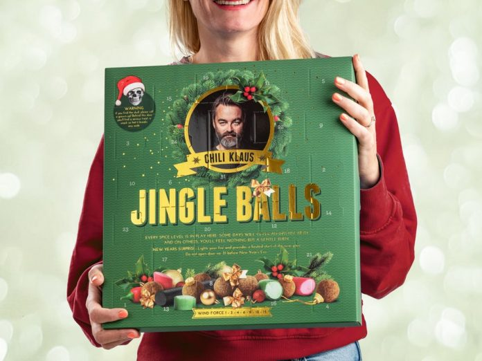 Chili Klaus julekalender Jingle Balls