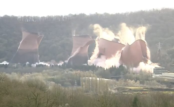 Ironbridge Power Station's cooling towers
