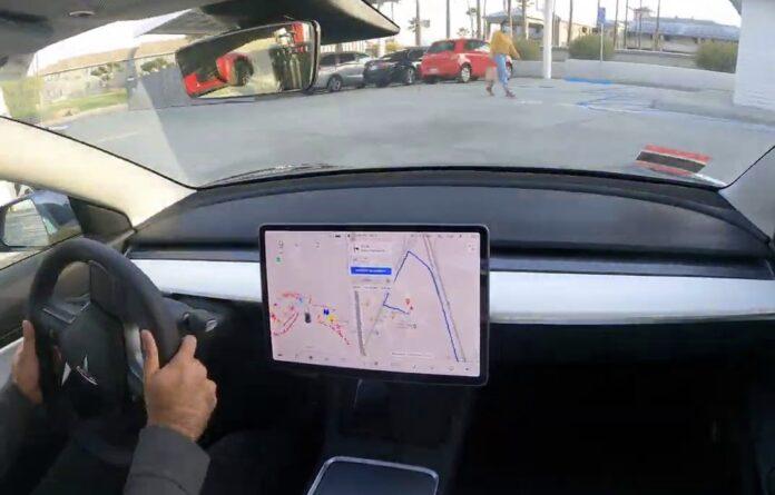 Selvkørende Tesla