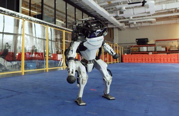 Boston Dynamics dans
