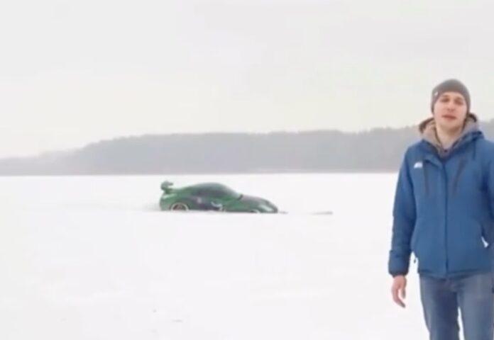 Drifting på is