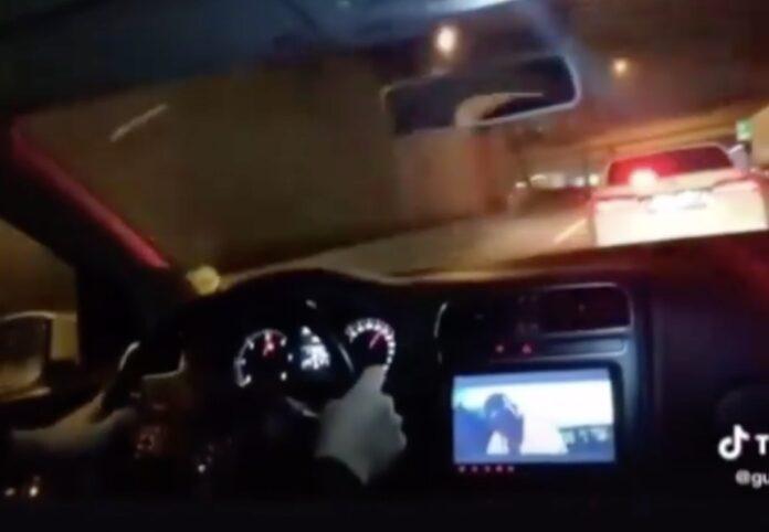 Blink på motorvejen