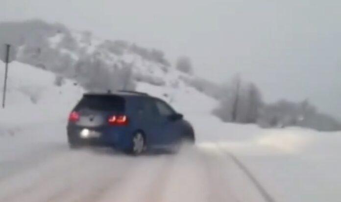 Drifting i VW Golf