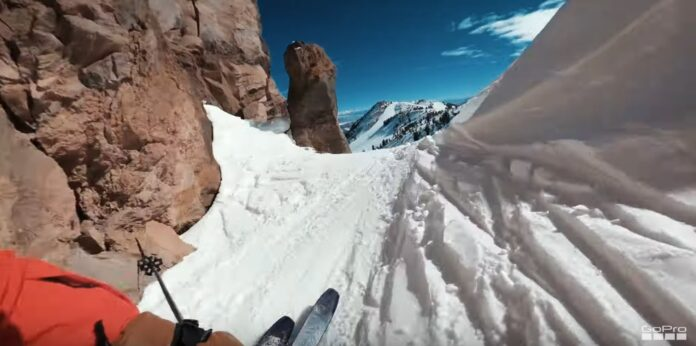 GoPro på ski