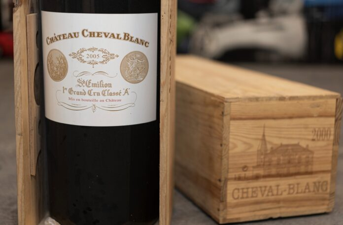 Château Cheval Blanc i Saint-Émilion i Bordeaux