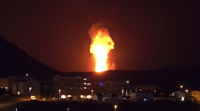 Islandsk vulkan