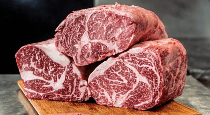 Wagyu-kød