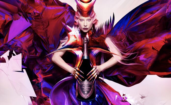 Dom Pérignon og Lady Gaga afslører limited-edition champagner